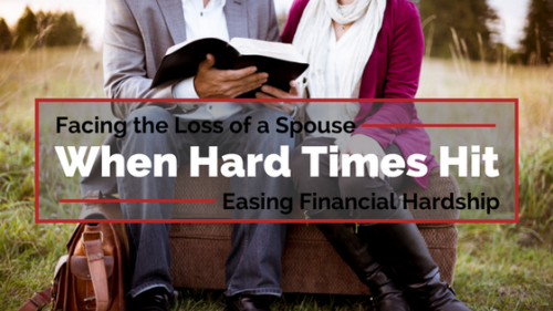 Getting through emotional and financial hardship with CADA 360 Lifetime Surviving Spouse Coverage